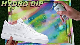 HYDRO Dipping AIR Force 1's! -3