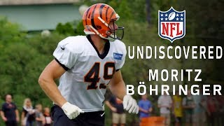 Moritz Böhringer Transitions from WR to a New Position & Makes the Bengals Roster | NFL Undiscovered