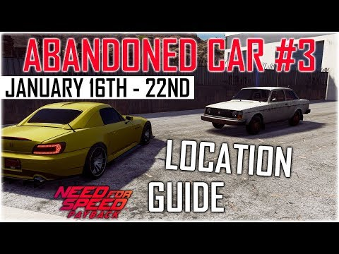 Need For Speed Payback Abandoned Car 3