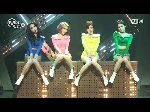 [MPD직캠] 브라운아이드걸스 직캠 웜홀 (Warm Hole) Brown Eyed Girls Fancam @엠카운트다운_151105