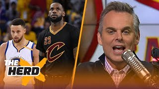 Colin Cowherd reacts to the 2018 NBA All-Star voting   THE HERD