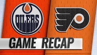 Flyers down Oilers in OT for seventh straight win