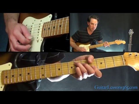 David Bowie - Let's Dance Guitar Lesson - Chords/Rhythms