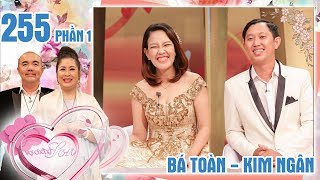The couple who 'whips' each other first, love later |Ba Toan - Kim Ngan|VCS #255 😂