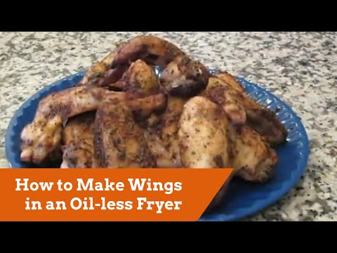 How to Make Wings in a Big Easy Oil-less Fryer