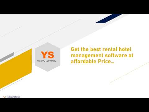 Rental Hotel Management Software at Affordable Price ...