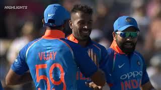 INDIA VS NEW ZEALAND 3rd ODI LIVE MATCH HIGHLIGHT 2019 INDIA TOUR OF NEW ZEALAND HARDIK PANDYA