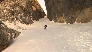 Ruta offroad de snowboard