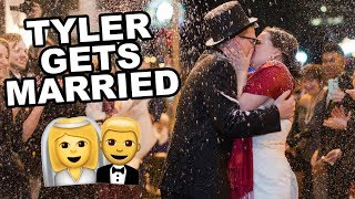 TYLER GETS MARRIED