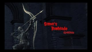 bloodborne simon s bowblade dlc weapon review music videos