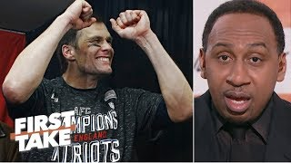 Tom Brady deserves an 'A' for AFC Championship Game win – Stephen A.   First Take