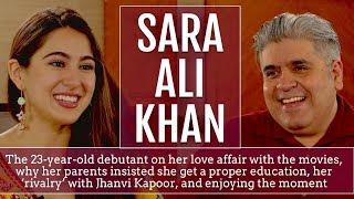 Rajeev Masand interview with actress Sara Ali Khan..