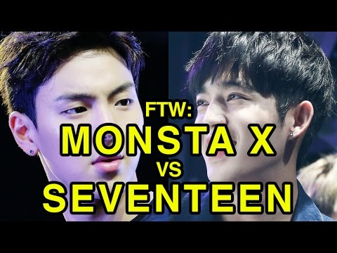 For The Win: Monsta X vs SEVENTEEN