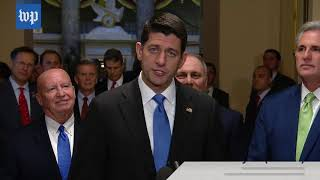 GOP celebrates as tax bill passes the House and is poised to pass in the Senate