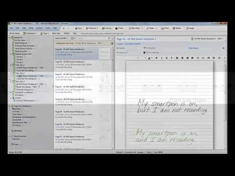 Schrijf notities en neem geluid op met Livescribe Sky Wifi Smartpen