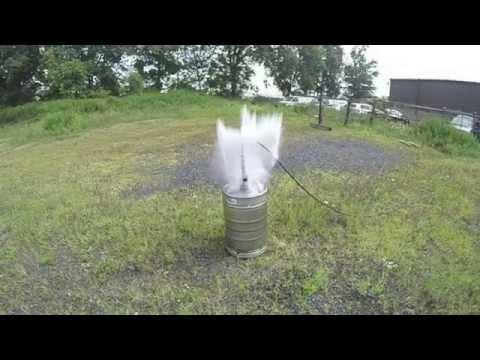 Hydrostatic Testing a Beer Keg