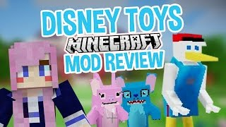 Creepy Disney Toys! | Minecraft Mod