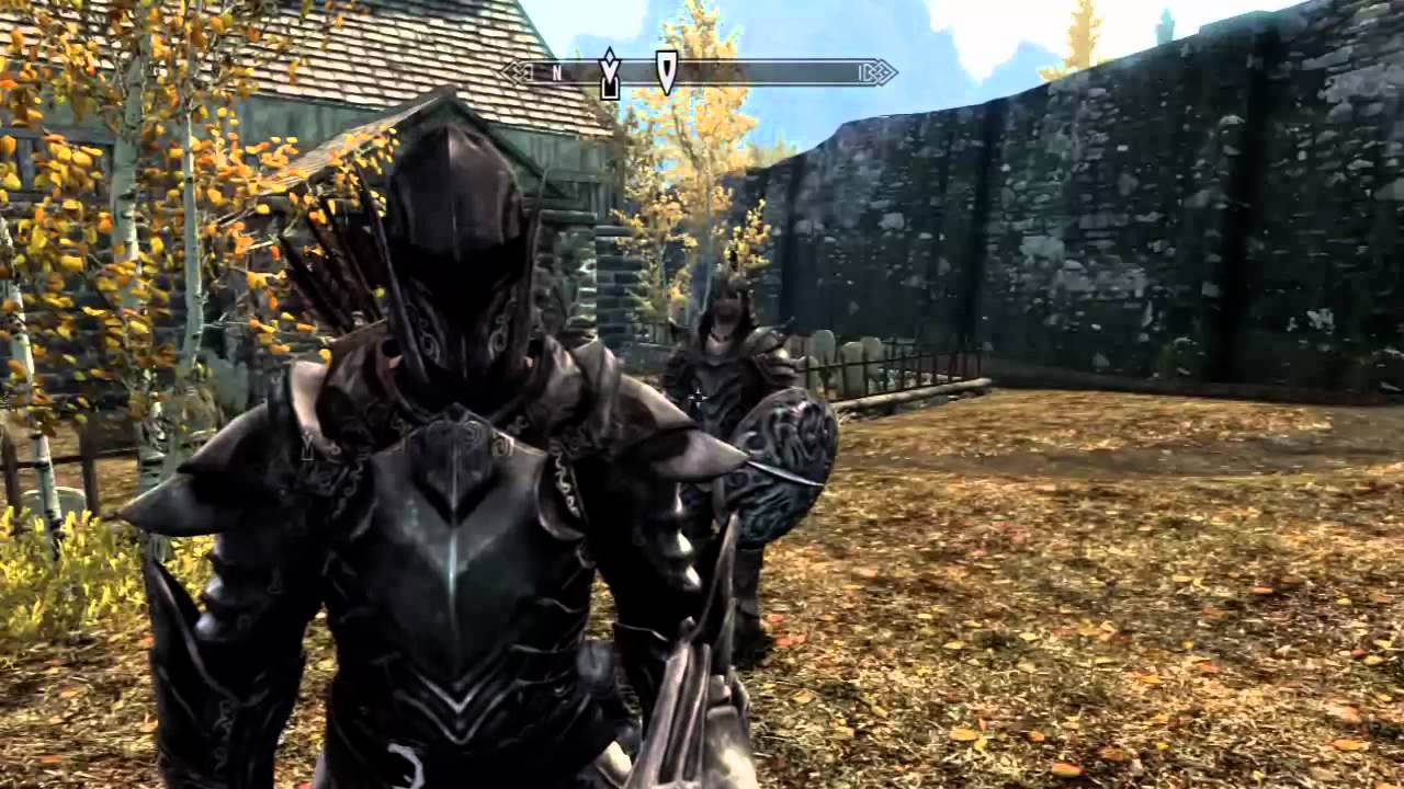 Oblivion Ebony Armor Location 103