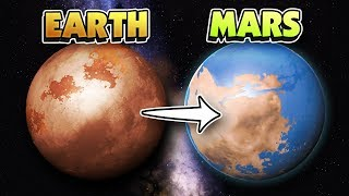 MAKING MARS THE NEW EARTH IN VR! - Universe Sandbox 2 VR