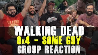 Walking Dead - 8x4 Some Guy - Group Reaction