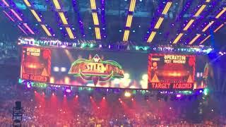 Wrestlemania 34 Shane McMahon and Daniel Bryan entrance live