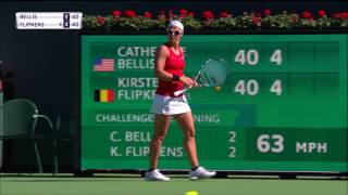 Shot of the Day: Kirsten Flipkens