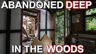ABANDONED DEEP IN THE WOODS - The Horse Mirror House