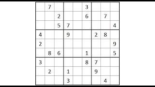 Sudoku Primer 108 Using two tricks to break through a diabolical puzzle