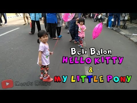 Beli Mainan Balon My Little Pony dan Hello Kitty