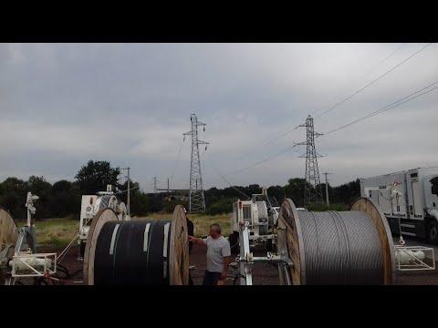 Seguridad en el tendido de cables eléctricos: Freno negativo