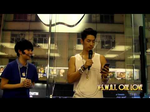 12/08/13 - VanNess Wu 吳建豪 @ Apple Store《Meet the Musician》Part.2