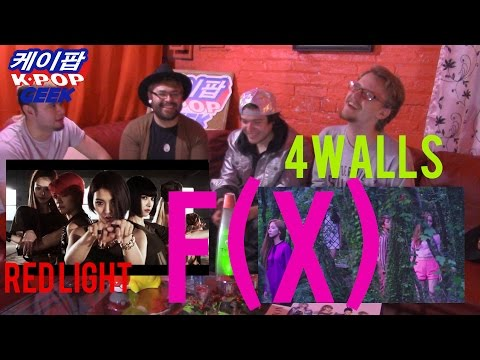 F(X) 에프엑스_Red Light & 4 Walls MV (NON-KPOP FAN ) REACTION
