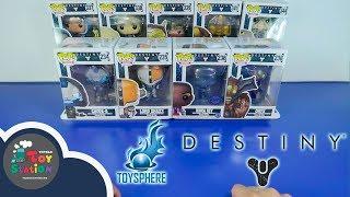 Mở hộp 9 nhân vật Funko POP chủ đề Game Destiny  ToyStation 249
