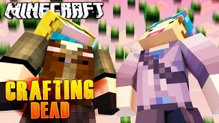 IT'S RAINING ZOMBIES! | Minecraft Crafting Dead