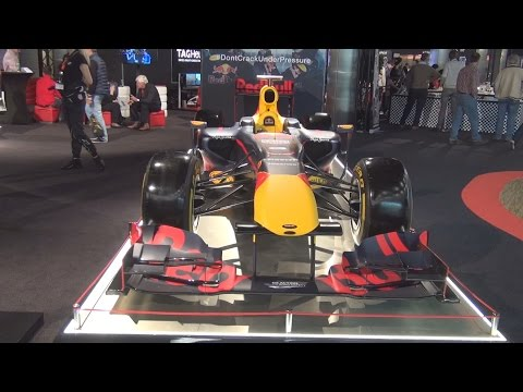 Red Bull Racing - Tag Hauer RB12 Formula One (2016) Exterior and Interior in 3D