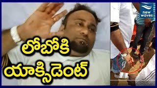 Anchor Lobo Injured in Road Accident; Talks To Reporters-U..