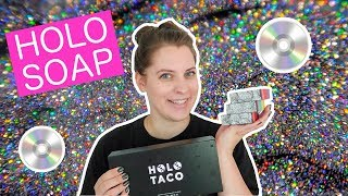 HOLO SOAP + HOLO TACO GIVEAWAY (closed) // Holographic Soap Inspired by Simply Nailogical