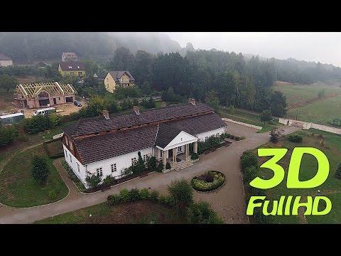 [3D] Skansen / Open Air Museum and Ethnographic Park, Wygiełzów, Babice, Poland / Polska