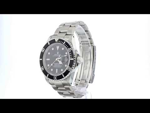 Rolex Oyster Perpetual Submariner Day Date - 16610/K18735 - YEAR 2001
