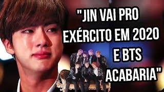 JIN NO EXÉRCITO EM 2020 E FIM DO BTS | Sofredora K-popper