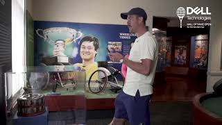 Johnson Takes Fans Behind The Scenes At International Tennis Hall Of Fame