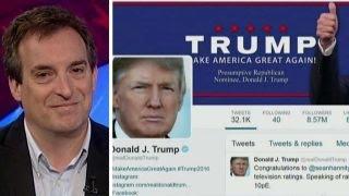 The man behind @realDonaldTrump on Twitter