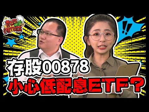 存股00878 小心低配息ETF│散戶進化論│姚懿庭 王建文