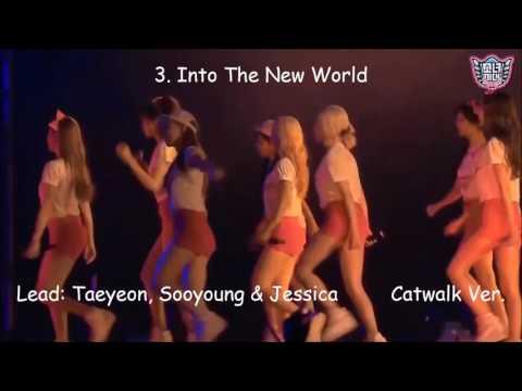 SNSD Top 5 Dance Breaks