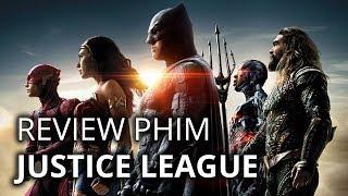 Review phim JUSTICE LEAGUE (Liên minh công lý)