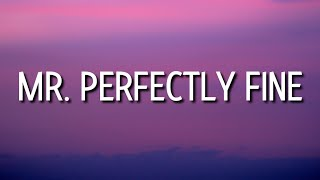Taylor Swift - Mr. Perfectly Fine (Lyrics) (Taylor's Version) (From The Vault)