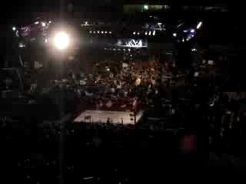 WWE Raw en Lima!!! - Entrada de John Cena