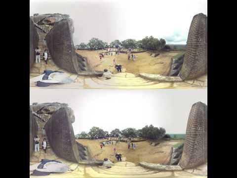3D 360 Sigiriya, Sri Lanka-4 (Descending Rock)