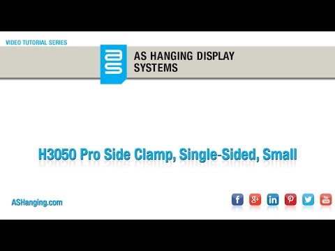 Pro Side Clamp, Single‐Sided, Small