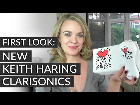 First look - New Keith Haring Clarisonics by CURRENTBODY